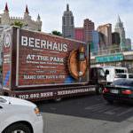 Beerhaus mobile billboard las vegas