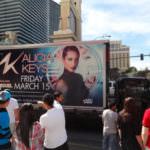 Alicia Keys billboard las vegas