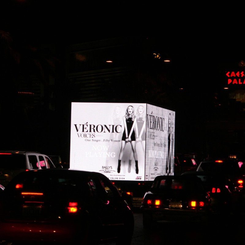 Las Vegas Advertising using Mobile Billboards