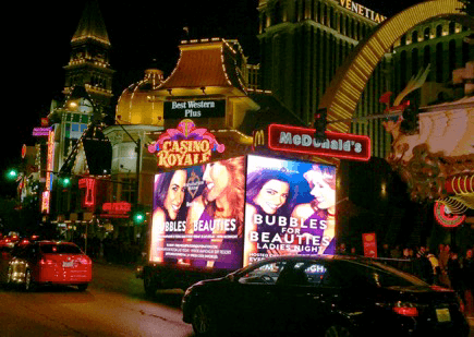 Las Vegas Advertising Mobile Billboards