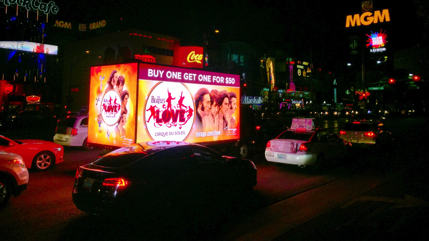 Las Vegas Digital Billboard Advertising