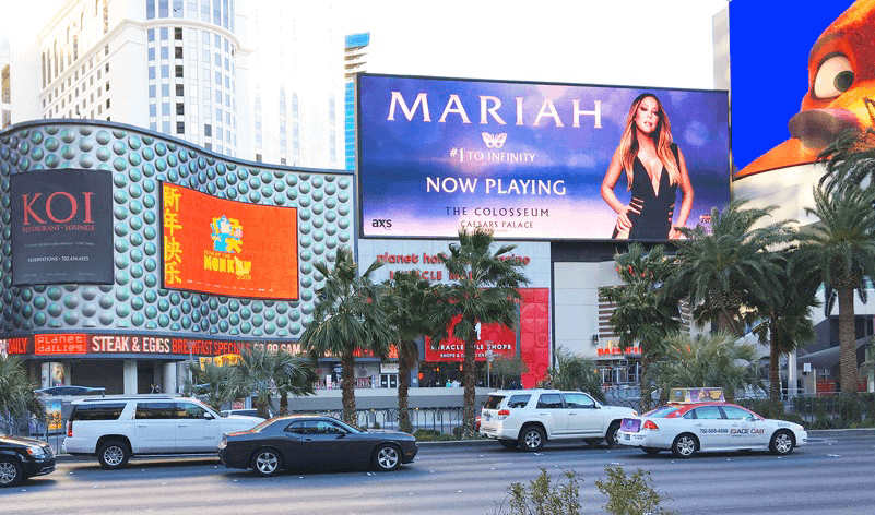 Billboards Las Vegas